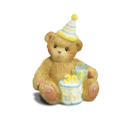 Enesco Cherished Teddies Bear (Enesco Cherished Teddies Happy 30th Birthday Figurine)