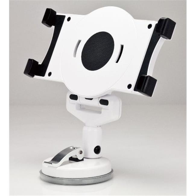 Aidata USA US-2120SW Universal Tablet Suction Stand, White - Case of 12