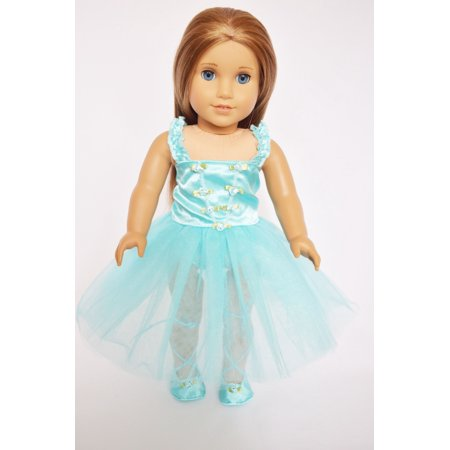 My Brittany's Blue Ballerina For American Girl Dolls (Ballerina Centerpieces)