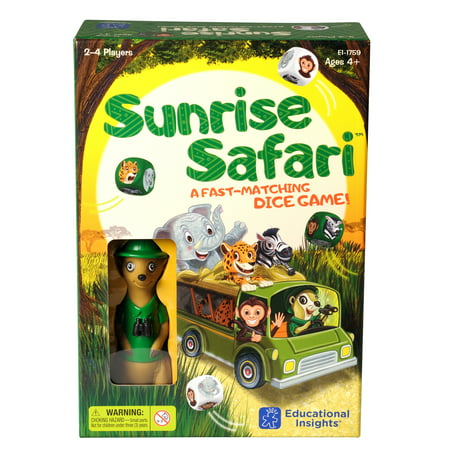 Educational Insights Sunrise Safari - Safari Themed Games