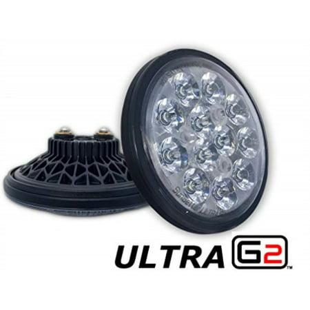 led landing light for aircraft | par36 size | aero-lites sunsetter ultra gen2 | 3,000lm | 9-32vdc ()