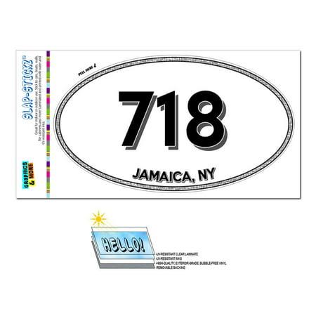 718 - Jamaica, NY - New York - Oval Area Code
