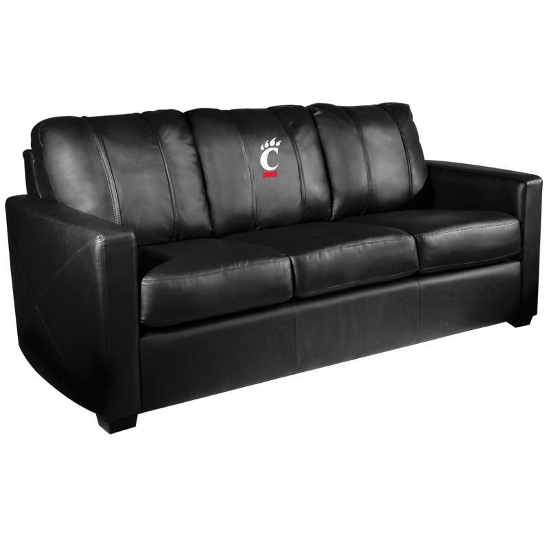 Cincinnati Bearcats Collegiate Silver Sofa