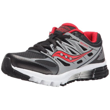 Saucony Zealot Boys Black/Red/Sin Sneaker 11W