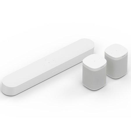 Sonos 5.0 Surround Sound Set with Beam and One SL