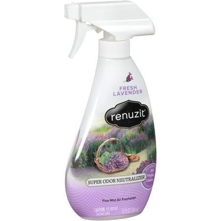 Renuzit Super Odor Neutralizer Trigger Spray, Fresh Lavender, 13 Oz