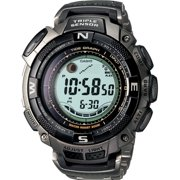 Casio  Men's Pathfinder PRG130T-7V Silver Plastic Quartz Watch
