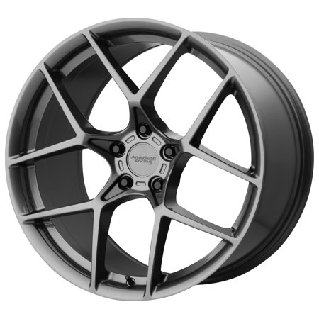 "American Racing AR924 Crossfire 18x8.5 5x4.75"" +50mm Gunmetal Wheel Rim 18"" Inch"