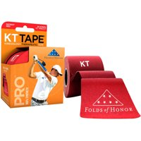 "KT Tape Pro Folds Of Honor Special Edition 10"" Precut Sports Roll - 20 Strips"