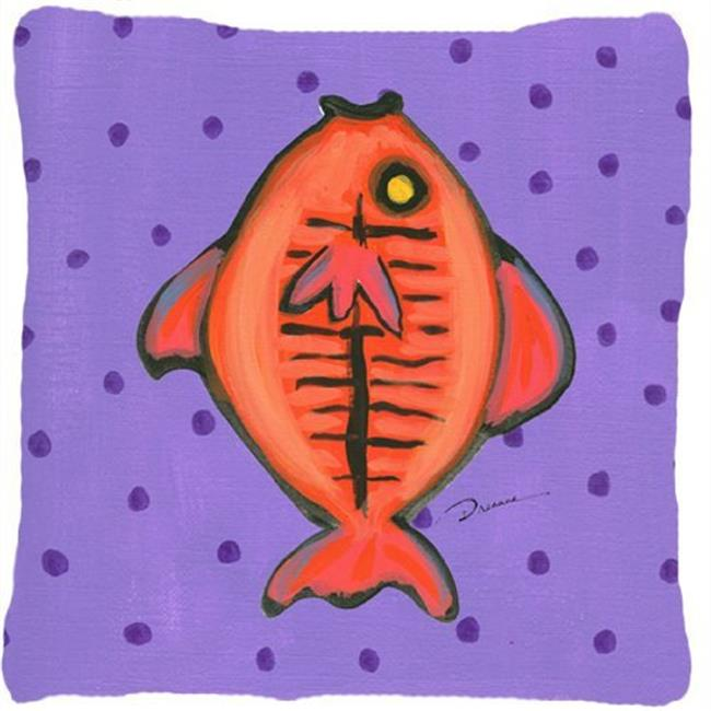 Carolines Treasures LD6131PW1414 14 x 14 in. Fish Decorative Fabric Pillow - image 1 de 1