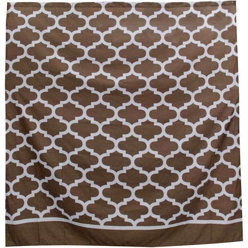 Mainstays Fretwork Shower Curtain