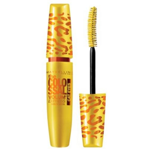 Maybelline Volum' Express The Falsies Colossal Cat Eyes Washable Mascara, Glam Black [233], 0.31 oz (Pack of 3)