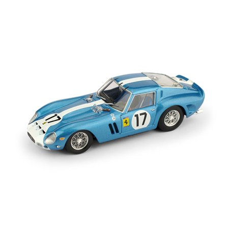 1962 Ferrari 250 GTO - 3387GT - 24 H LeMans 1962 Grossman - Roberts #17 North American Racing Team in 1:43 Scale by