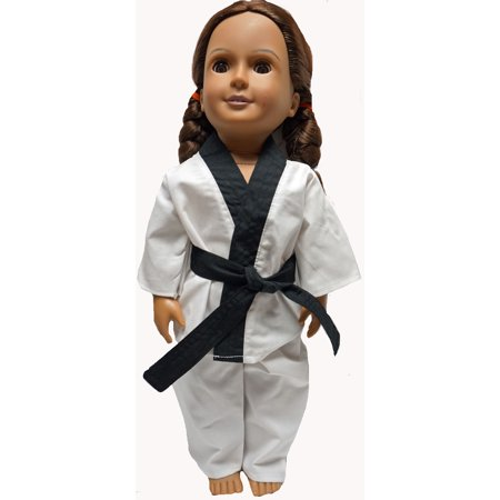 18 Inch Doll Clothes Karate Outfit fit American Girl, and Our Generation