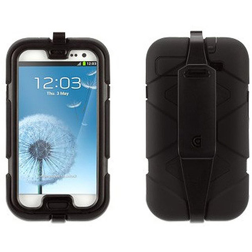 Griffin Survivior Case for Galaxy S3- Black