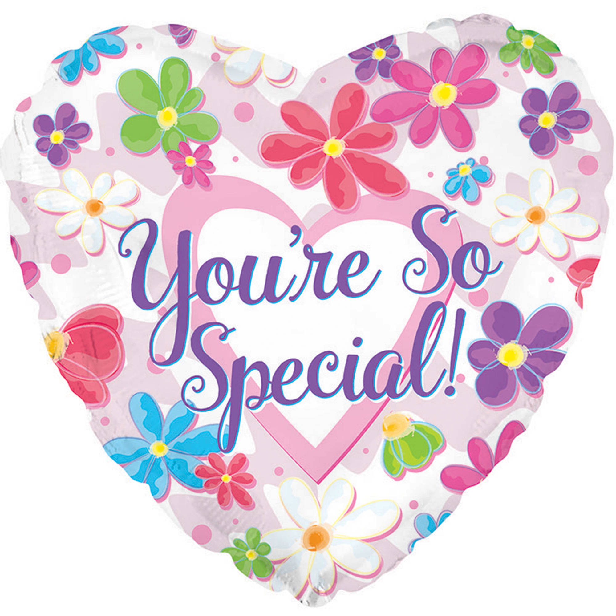 You're So Special Flowered Mylar Balloon, 1pk