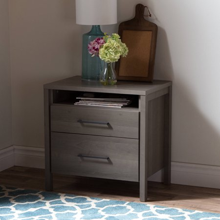 Kamisco three drawer north shore night stand home for Multi night stand