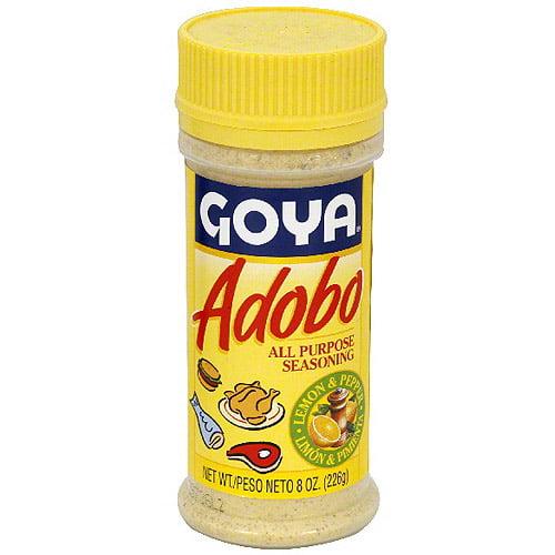 Goya Lemon & Pepper Adobo, 8 oz (Pack of 24)