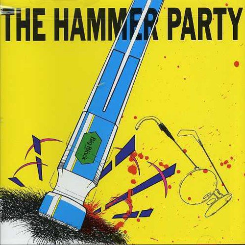 """The HAMMER PARTY CD contains the first three Big Black EPs - LUNG, BULLDOZER, and RACER X.<BR>Big Black: Steve Albini (vocals, guitar); Santiago Durango (guitar); John Bohnen (saxophone); Jeff Pezzati (bass); Pat Byrne (drums).<BR>Additional personnel: Mark Hayes (background vocals).<BR>Recorded in Chicago, Illinois in 1982 and 1983.  Includes liner notes by Steve Albini.<BR>The early '80s rock scene in Chicago seems to have been equally influenced by punk rock, industrial, and the decay of '70s cock rock. Out of this Petri dish came former writer Steve Albini and his band, Big Black. Starting as solo affair, Big Black combined these elements into a confrontational noisefest that lyrically addressed issues of concern to Chicago's largely blue-collar populace, from racism to driving trucks.<BR>Combining the first three Big Black EPs, LUNGS, BULLDOZER, and RACER-X, HAMMER PARTY features punishing drums--sometimes played live, sometimes programmed--and dual guitars (distinguished by the liner notes as """"knife"""" and """"hammer""""). Pealing and skittering across the surface of the songs, these guitars call to mind the sound of tension wires stretched to their breaking points. """"Steelworker"""" and """"Cables,"""" an ode to hanging around slaughterhouses for fun, are among the best tracks. They show Albini at his most aggressive, spitting out such lines as """"I'm a murderer, I kill what I eat"""" and """"I don't know why I come here, guess I just like the bang"""" with amazing vitriol. The collection closes with a brutal take on James Brown's """"The Big Payback."""""""
