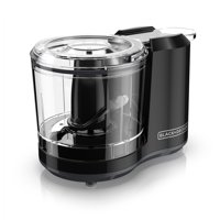 BLACK+DECKER 1.5-Cup One-Touch Electric Food Chopper, Black, HC150B