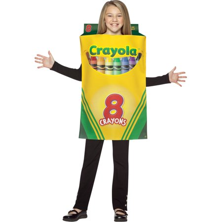 Crayola Crayons Costume (Morris costumes GC4521 Crayola Crayon Box Child)