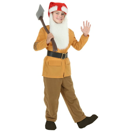 Child Brown Dwarf Costume - 7 Dwarves Costumes
