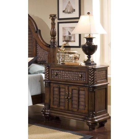 Progressive Furniture Inc Palm Court Ii 1 Drawer Nightstand