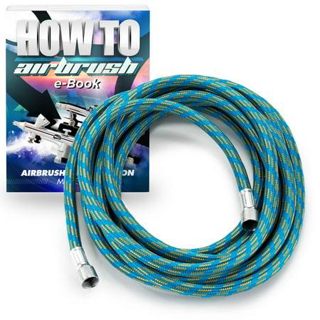 PointZero Braided Airbrush Air Hose (Braided Hose Assembly)