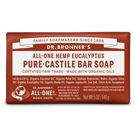 Eucalyptus Organic Bar Soap - (3 pack) Dr. Bronner's Eucalyptus Bar Soap