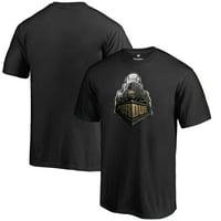 Purdue Boilermakers Fanatics Branded Midnight Mascot T-Shirt - Black