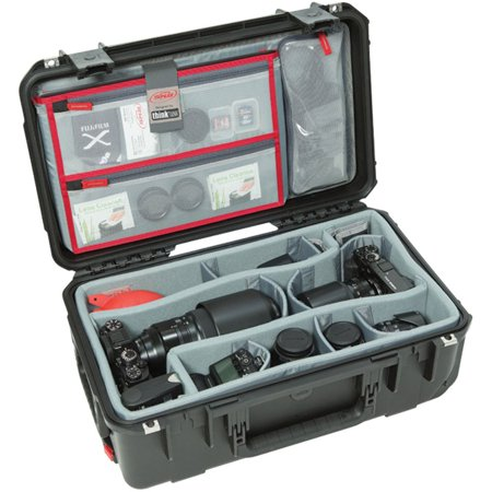 SKB Cases iSeries Case w/Think Tank Designed Photo Dividers and Lid Organizer