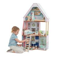 KidKraft Matilda Dollhouse w/EZ Kraft Assembly + 23 Accessories Deals