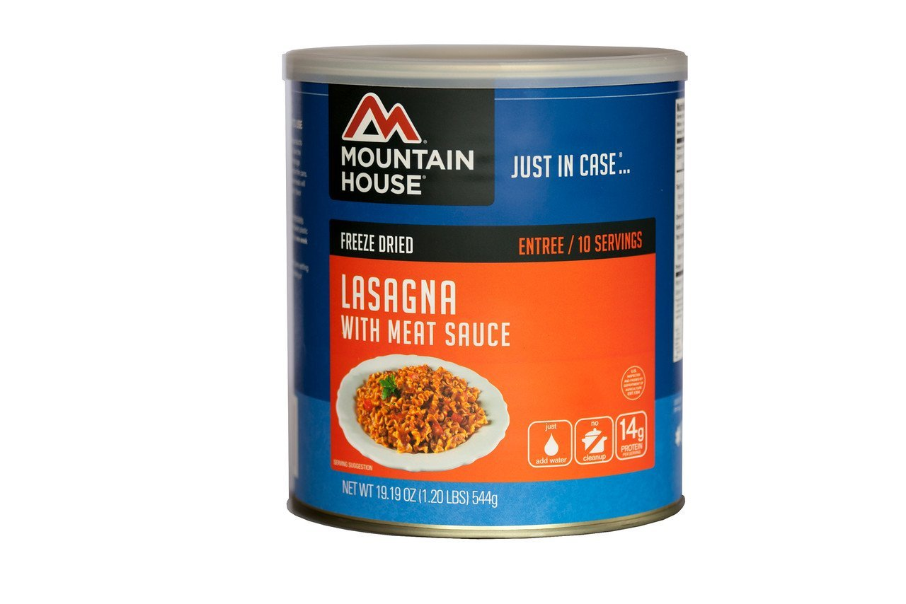Lasagna with Meat Sauce #10 CAN, Ship from America by