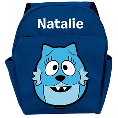 Personalized Yo Gabba Gabba! Toodee Head Blue Backpack