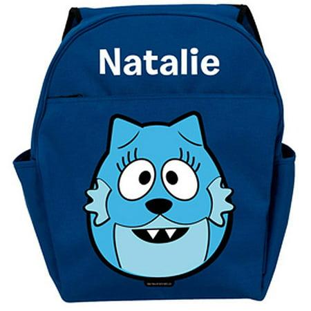 Personalized Yo Gabba Gabba! Toodee Head Blue Backpack](Yo Gabba Gabba Shoes)