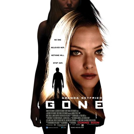 Gone  2012  27X40 Movie Poster