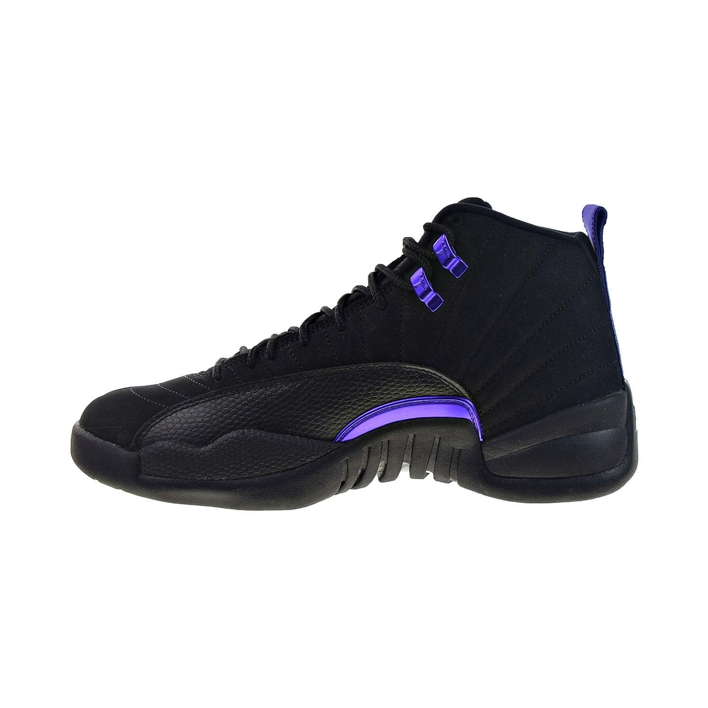 Air Jordan 12 Retro Men's Shoes Black-Dark Concord ct8013-005