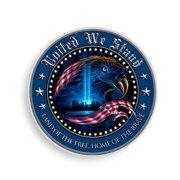 Patriotic United We Stand 6In Reflective Decal