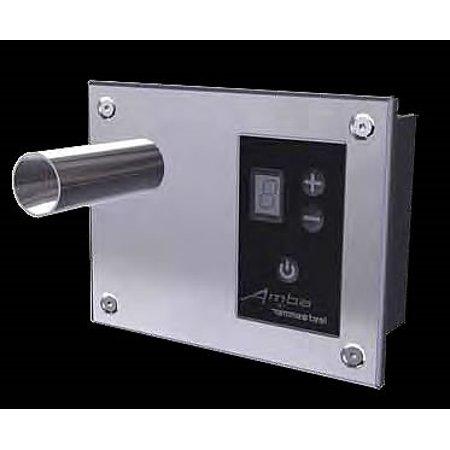 Amba Swivel Collection - Amba Digital Heat Controller for Antus, Quadro, Sirio & Vega Collections, Brushed Finish