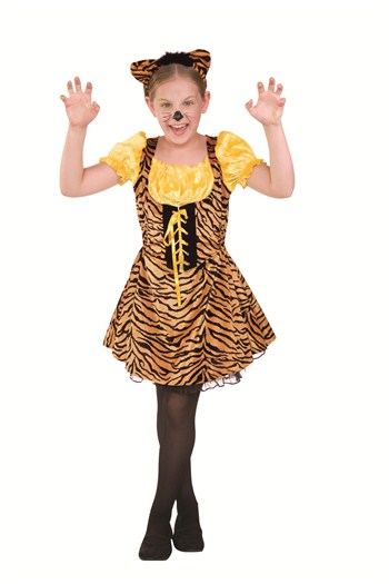 Sassy Tiger Child Costume by RG Costumes