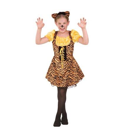 Tigger Costume Child (Sassy Tiger Child Costume)