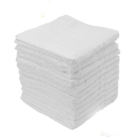 Heavy Duty Terry Cloth - GHP 30-Pcs White 12