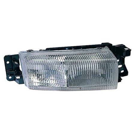 Go-Parts OE Replacement for 1992 - 1998 Oldsmobile Achieva Front Headlight Assembly Housing / Lens / Cover - Left (Driver) Side 16524845 GM2502178 Replacement For Oldsmobile Achieva Oldsmobile Achieva Driver