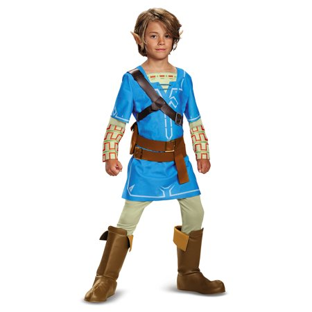 The Legend of Zelda: Link Breath Of The Wild Deluxe Child Costume](Link Halloween Costume Zelda)