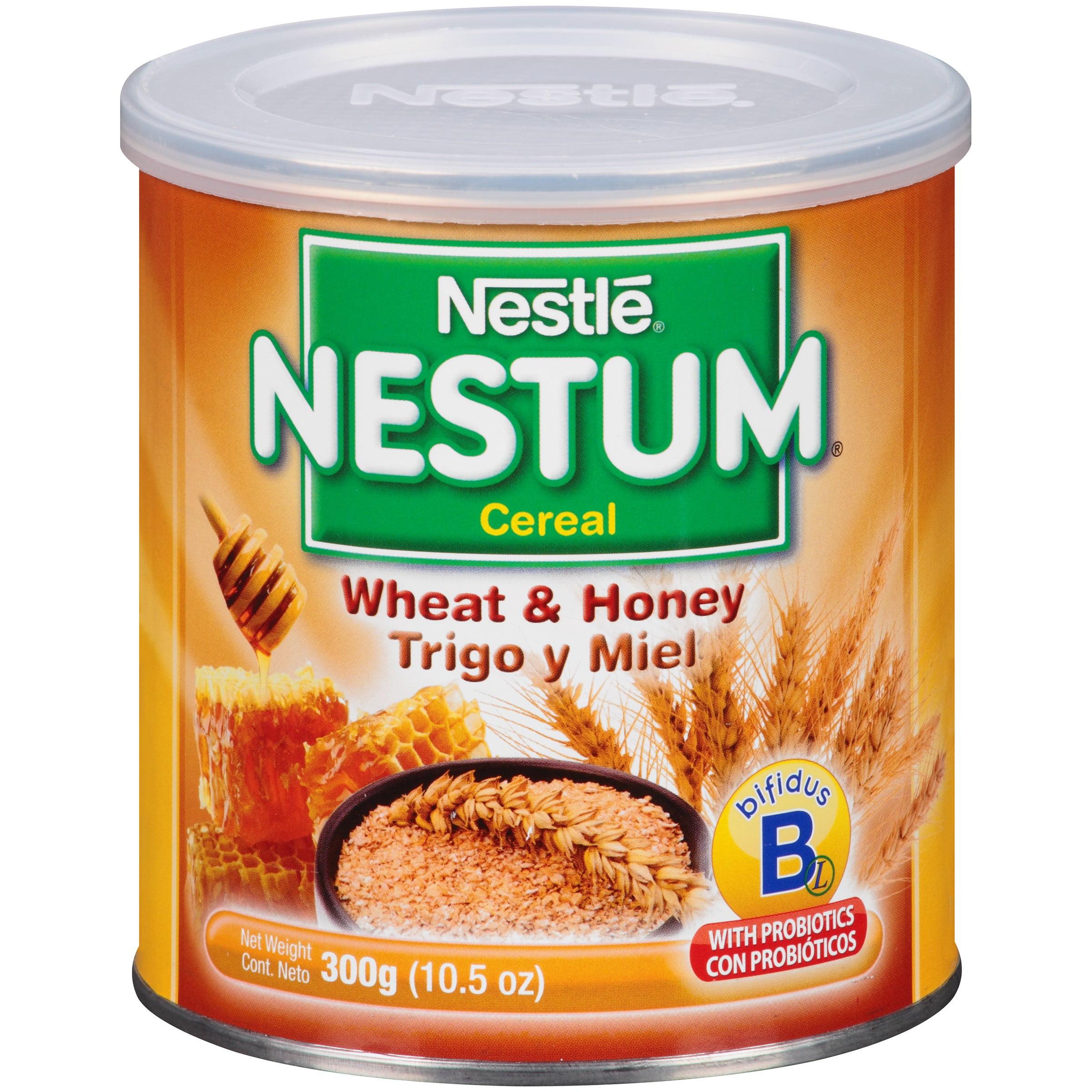Nestle nestum breakfast cereal wheat honey 105 oz walmart ccuart Images