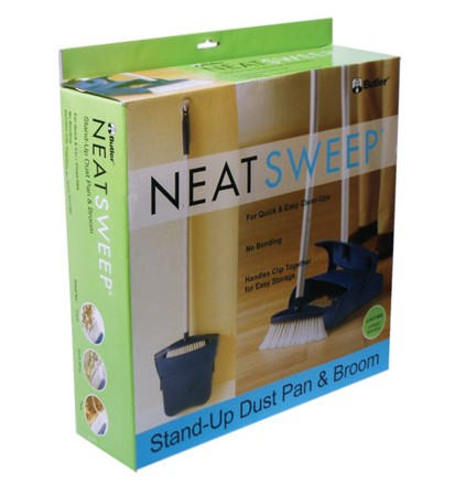 Butler Neat Sweep Stand Up Dust Pan & Broom
