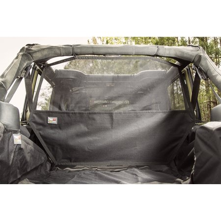 Rugged Ridge 13260.06 Pet Barrier C2 Cargo Curtain Direct Fit; Ballistic Woven; Black; Nylon - image 1 of 2