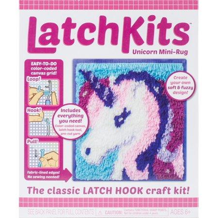 Latch Kit Mini Rug-Unicorn