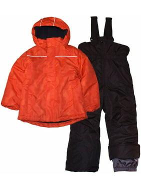 Pulse Little Boys' S M L Barrel 2 Piece Snowsuit Waterproof