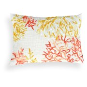 A1 Home Collections Janice Off-White Coral Embroidered Pillow